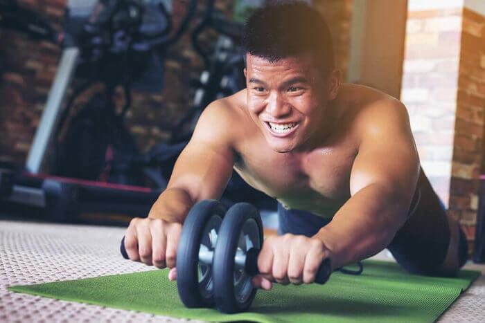 【番外編】腹筋全体を鍛える腹筋ローラー