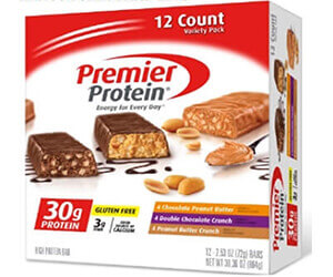 Premier Protein プレミア プロテイン プロテインバー バラエティパック