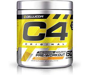 1.Cellucor「C4 オリジナルプレワークアウトパウダー」