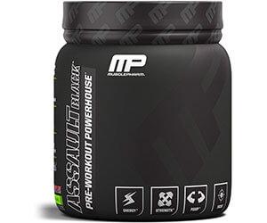 Muscle Pharm「アサルトブラック -プレワークアウトパワーハウス -」