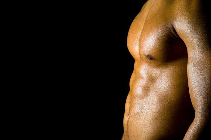 3位:大胸筋