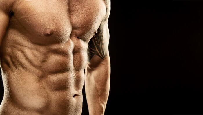 2位:腹筋