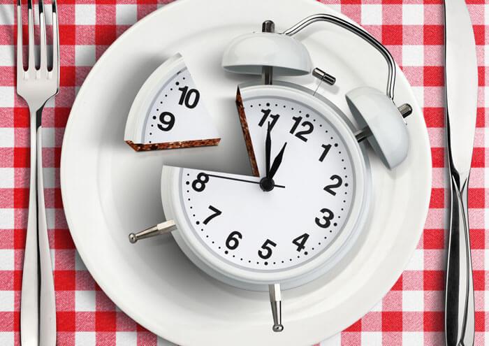 30分以上かけてゆっくり食べる