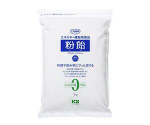 ④マルトデキストリン(カーボドリンク):粉飴顆粒
