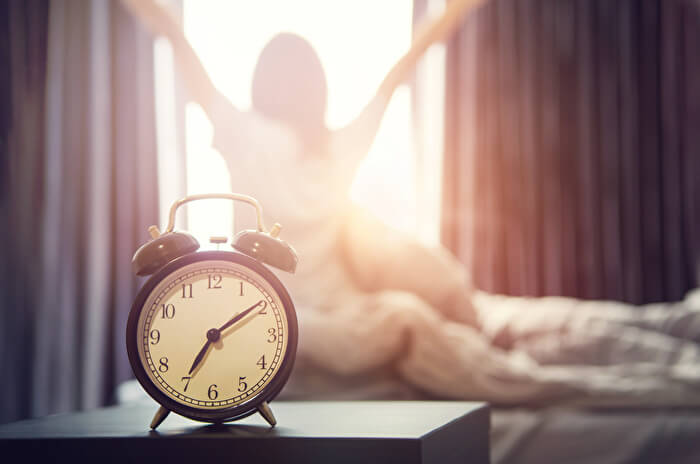 3.睡眠の質が向上する