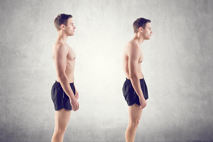 プランク 姿勢が良くなることで頭痛や肩こりが改善される
