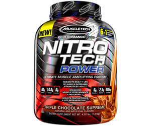 Muscletech「Nitro Tech Power(ニトロテックパワー)」