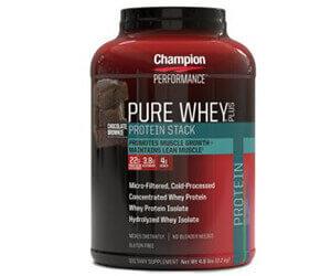CHAMPION NUTRITION「ピュアホエイプロテイン(Pure Whey Plus Supplements)」