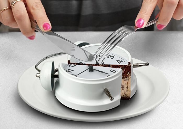 4.30分以上かけてゆっくり食べる