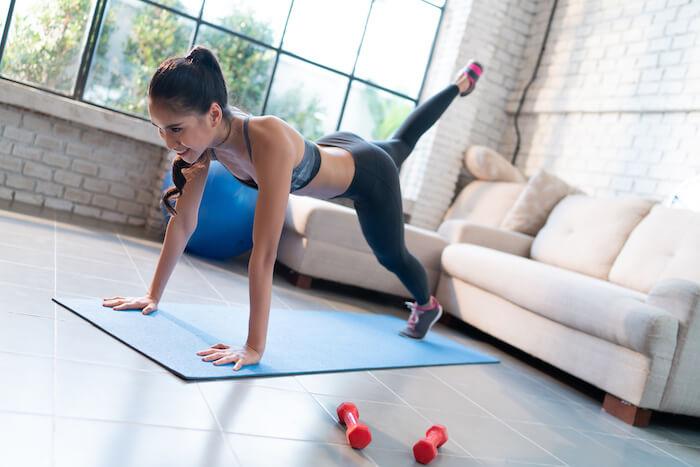 室内で行う有酸素運動の5つのメリット