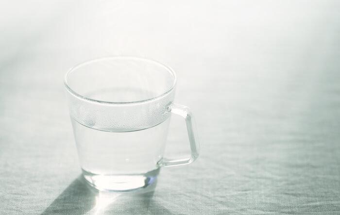 ダイエットにおすすめの飲み物2:白湯