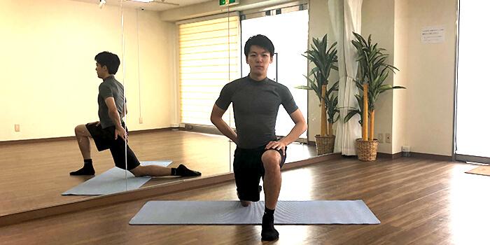 腸腰筋ストレッチ3
