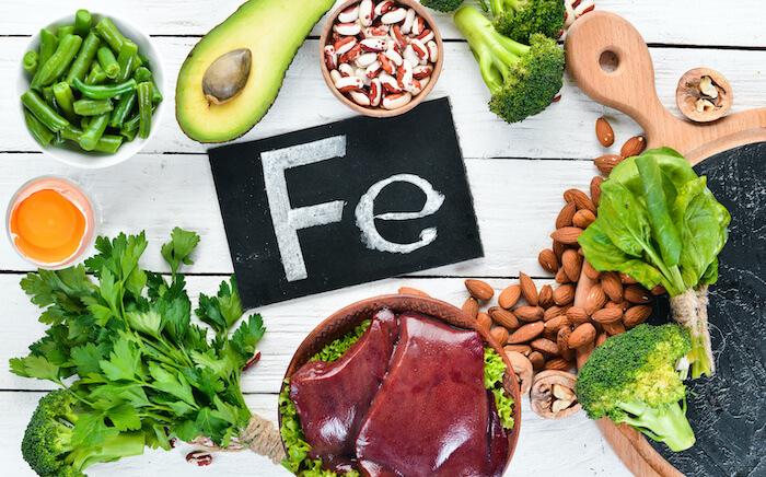 ダイエットに効果的な栄養素6.鉄
