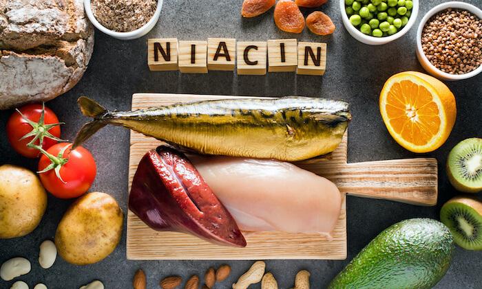 ダイエットに効果的な栄養素5.ナイアシン