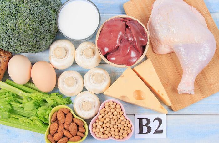 ダイエットに効果的な栄養素4.ビタミンB₂