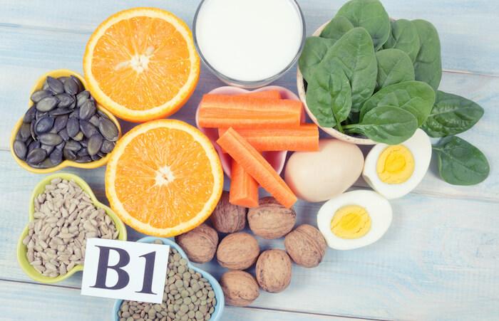 ダイエットに効果的な栄養素3.ビタミンB₁(チアミン)
