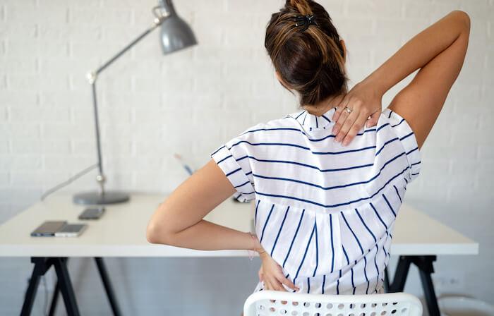 腰痛や腰の疲労軽減