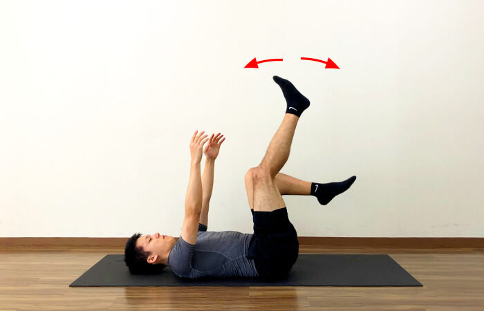 寝ながらできるふくらはぎリラックス体操のやり方