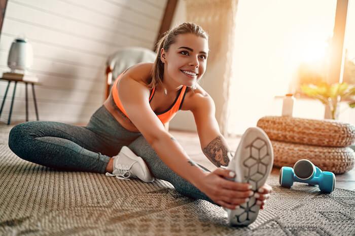激しい運動なしで体力をつける運動メニュー10選!疲れにくい体を作る食事法も紹介