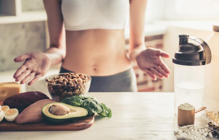 筋トレ前✖空腹時におすすめの食べ物3選!
