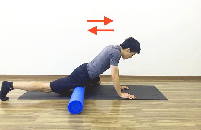ストレッチポールを使った腸腰筋ストレッチ