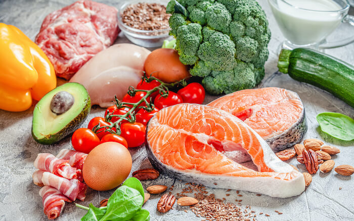 炭水化物・タンパク質・脂質のバランスを意識する