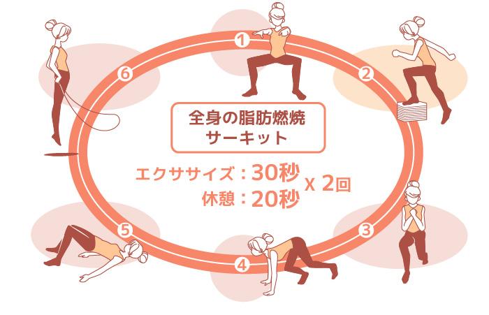 全身脂肪燃焼サーキットトレーニング