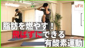 【静かにできる】自宅でできる有酸素運動!飛ばない「脂肪がすぐに燃える」ダイエット