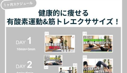 【1ヶ月ダイエットスケジュール】健康的に痩せる本気の有酸素運動&筋トレメニュー